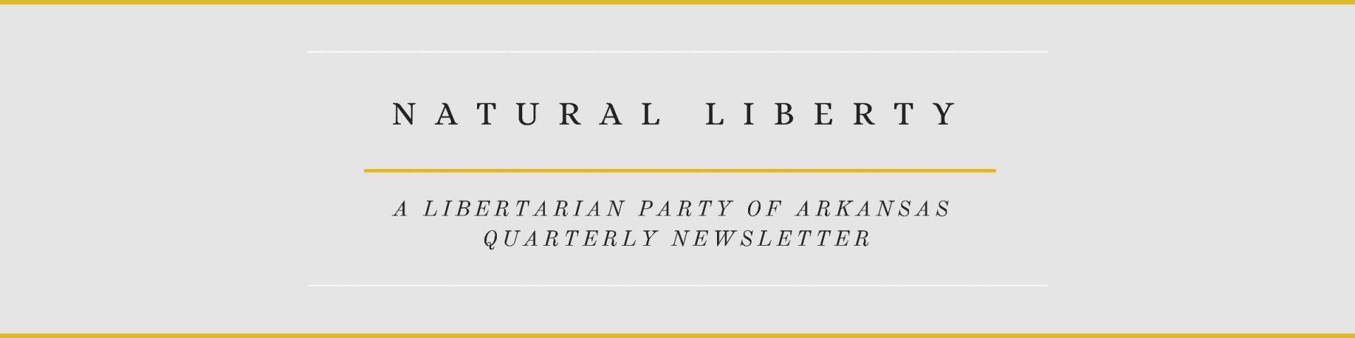 Natural Liberty Banner Long