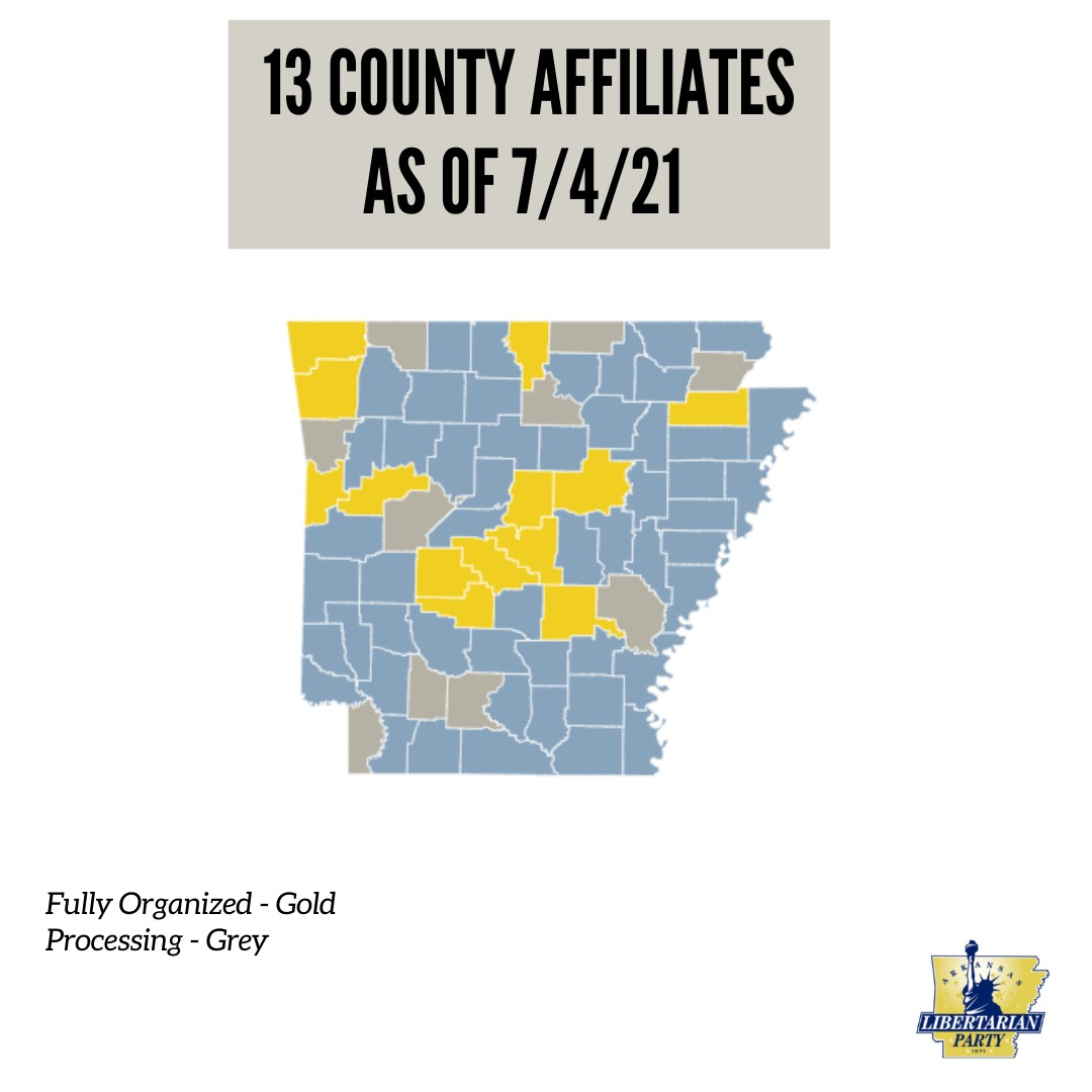 County Affiliates - July 2021
